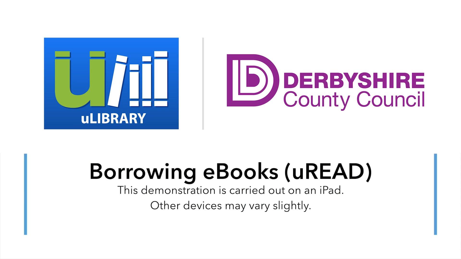 Borrowing eBooks On uLIBRARY (uREAD)